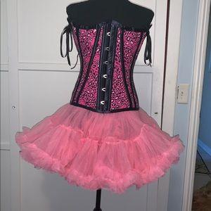 Hello kitty corset and tutu